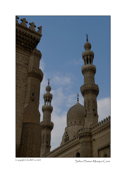 Minaret's of the Sultan Hassan Mosque