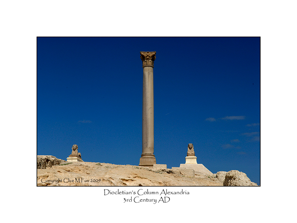 Diocletian's Column Alexandria