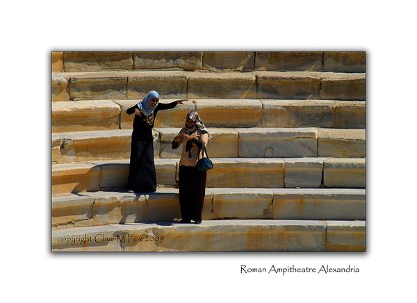 Roman Ampitheatre Alexandria Egypt