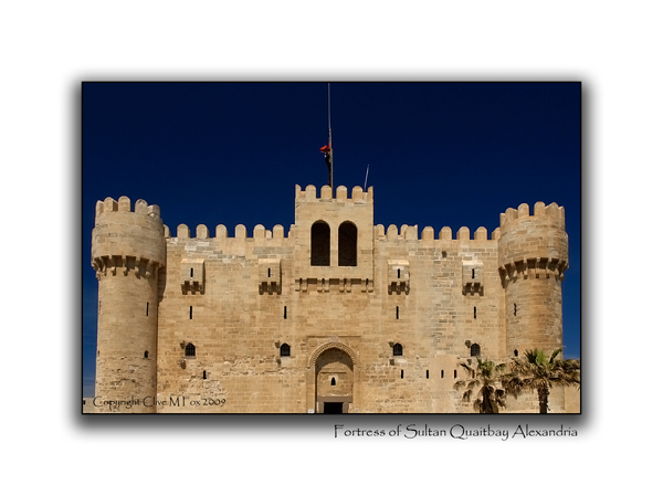 Marmeluke Sultan Quaitbay's Fortress