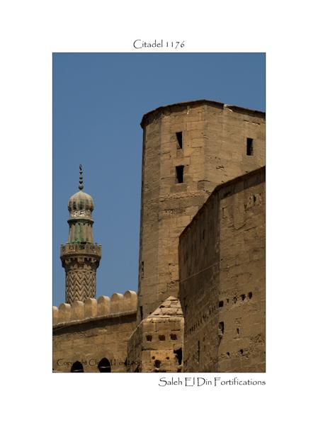Ramparts and minaret of the citadel of Saleh El Din