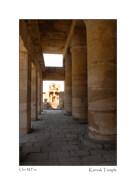 Inside the Temple of Amun