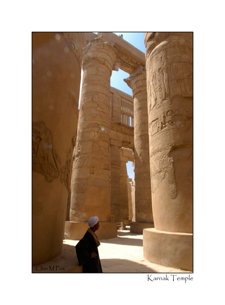 The Great Hall - Temple of Karnak