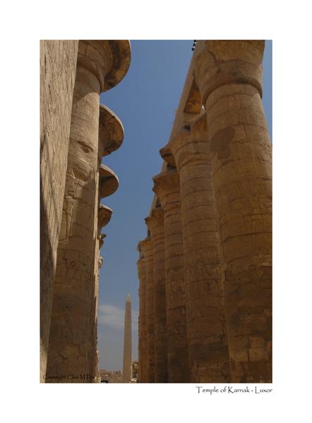 Obelisk of Hatshepsut - Karnak Temple