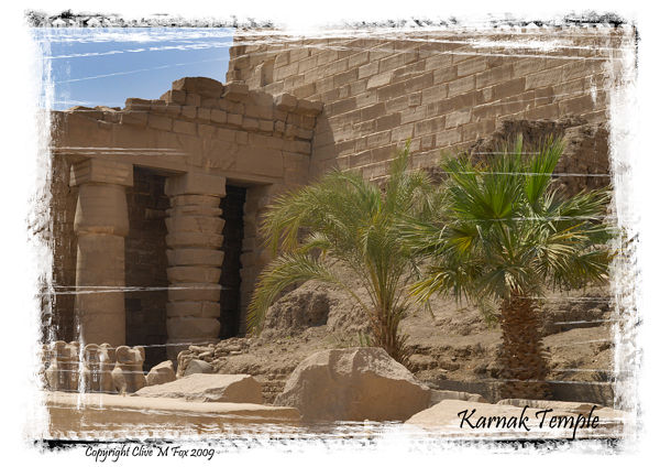 External Wall of Karnak Temple