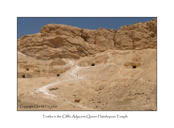 Cliff Face Tombs