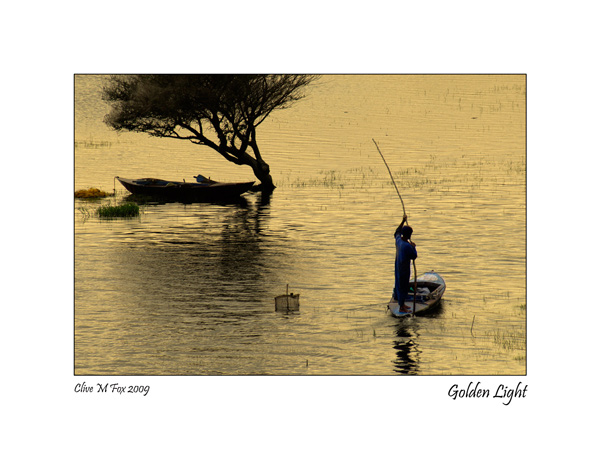 Fisherman on the River Nile