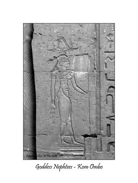 Goddess Nephtees - Temple of Sobek