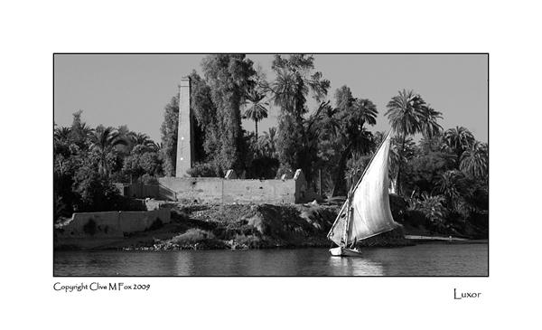Felucca at Luxor