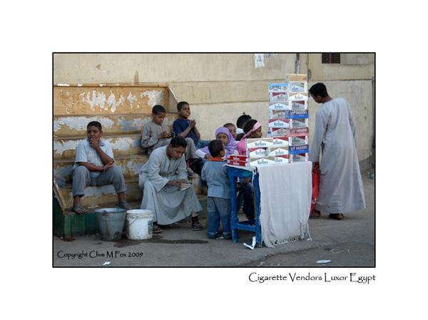 Cigarette Vendors