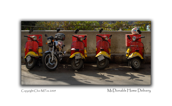McDonalds Home Delivery Service Cairo