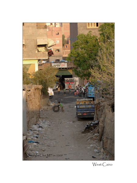 Street Scene Western Cairo