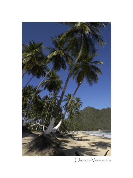 The main beach Choroni Venezuela