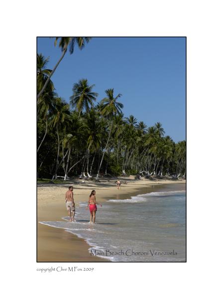 Choroni Main Beach