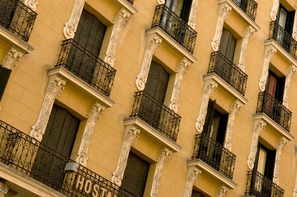 Facade in Madrid
