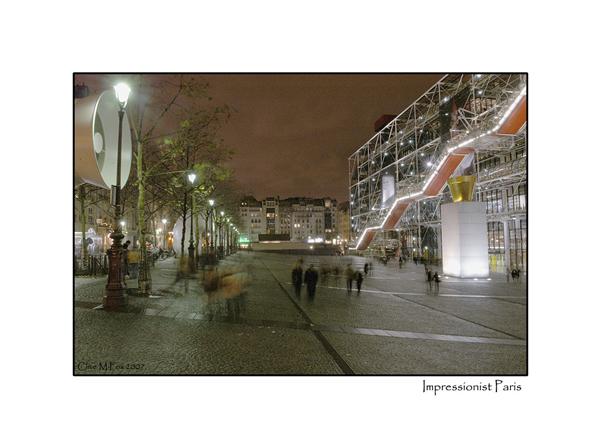Impressionist Pompidou Centre