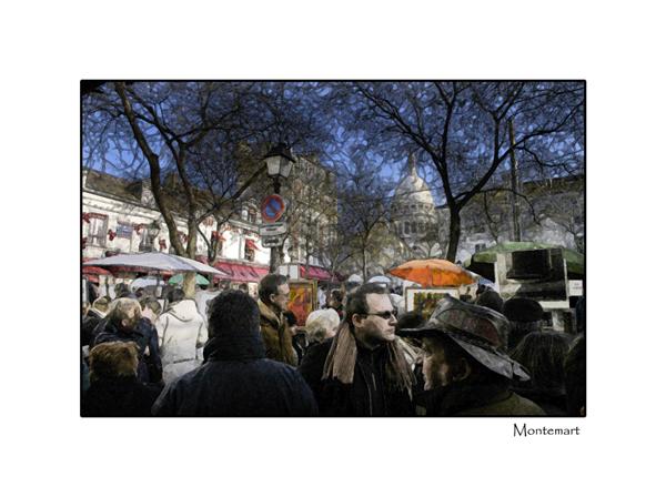 Artist Square Montemart Paris