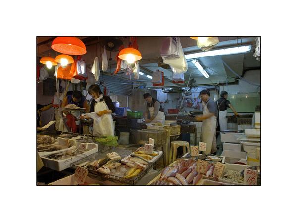 Late night shopping in Honk Kong