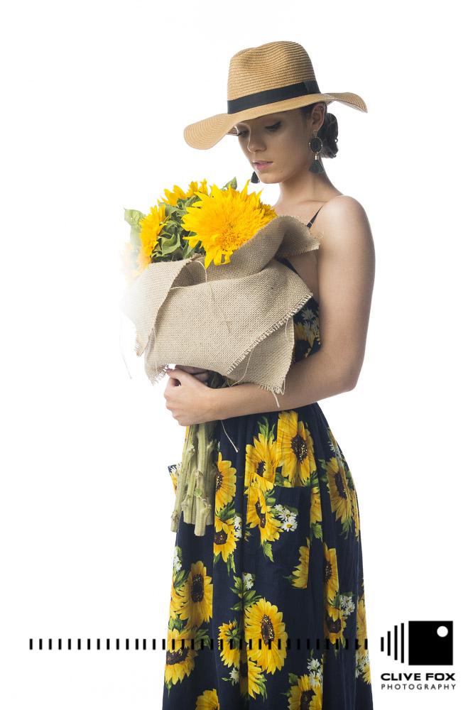 Devils Princess Boutique A Line Floral Mini Dress CF43441