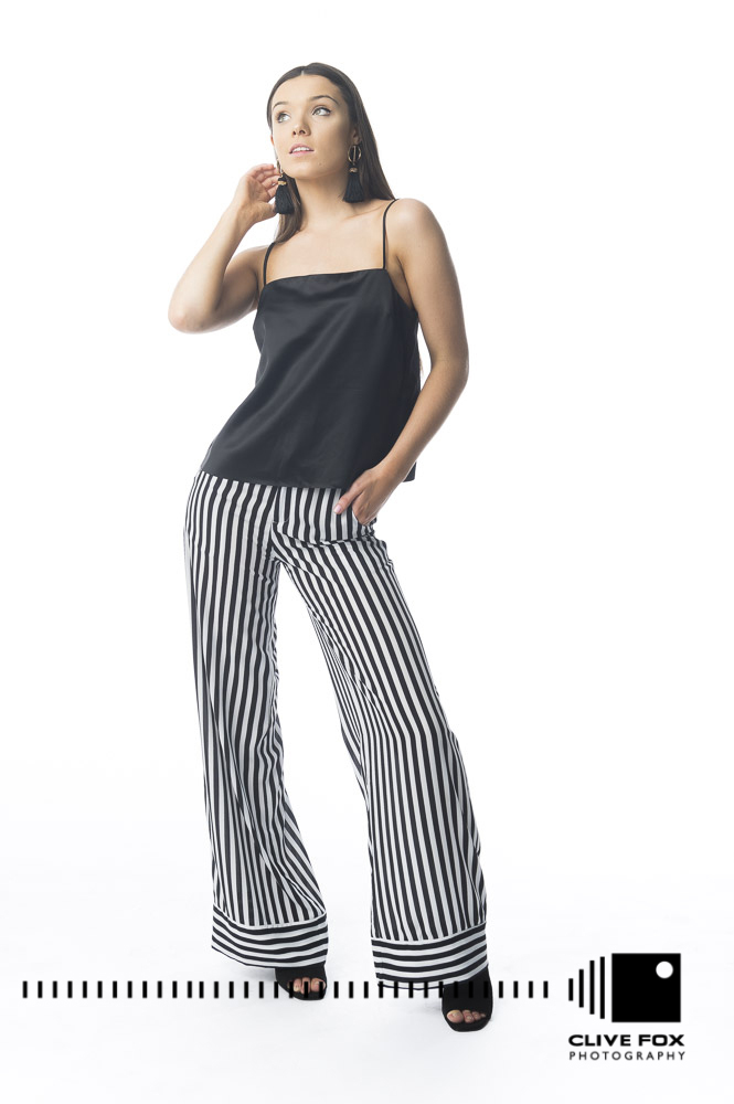 Devils Princess Boutique High Waisted Palazzo Pants CF43332