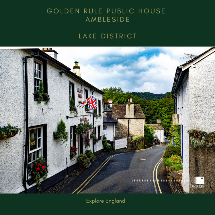 Golden Rule Pub Ambleside Lake District
