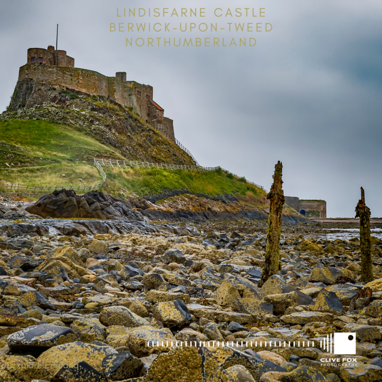 Lindisfarne Castle from Shore