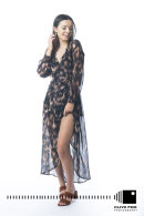 Maxi Wrap Dress Devils Princess Boutique CF43102