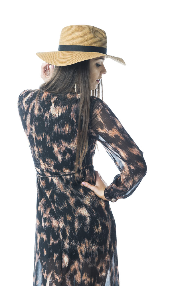 Maxi Wrap Dress Devils Princess Boutique CF43125