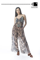 Tribal Print Jumpsuit Devils Princess Boutique CF43185