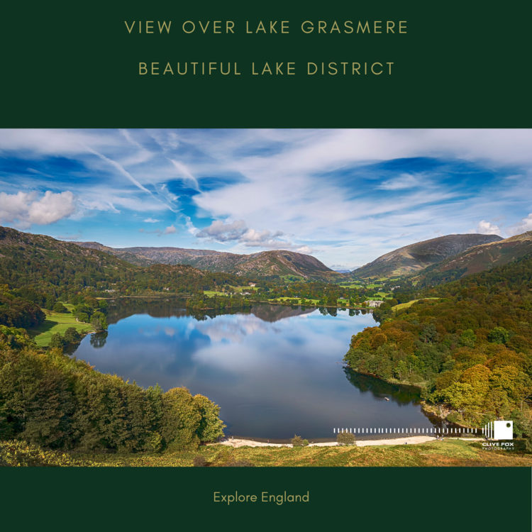 View Over Grasmere Lake District