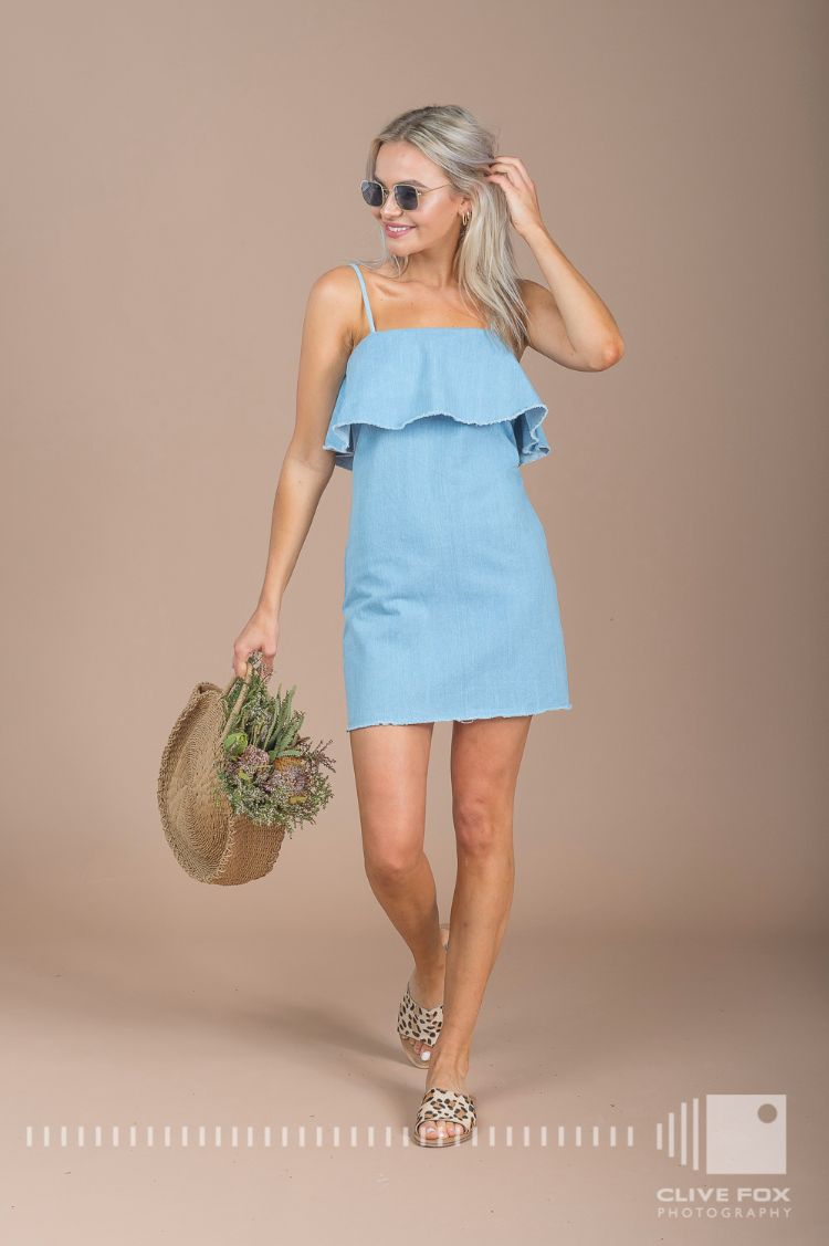 Bobbi Denim Dress by Lulu & Rose