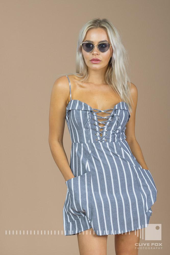 Devils Princess Boutique - Regan Stripe Dress