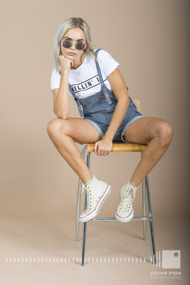 STAND BY MY OVERALLS ~ KILLING IT TEE CF44917