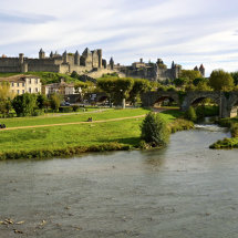 View of La Cité de Carcassonne