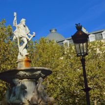 Place Carnot Neptune Fountain
