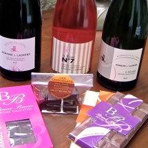Local Sparkling Wines & Chocolates