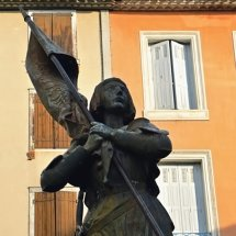 Sainte Jeanne d'Arc by Andre Vermare