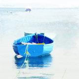 blue rowing boat IoS