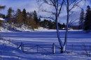 A Winter's Scene in Scotland, Alan Thomson