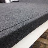 Polyester felt roof edge detail