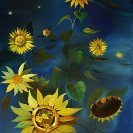 Study of Sunflowers II