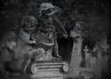 CHERUBS: GRAVE OF ALBERT EMILE SCHLOSS