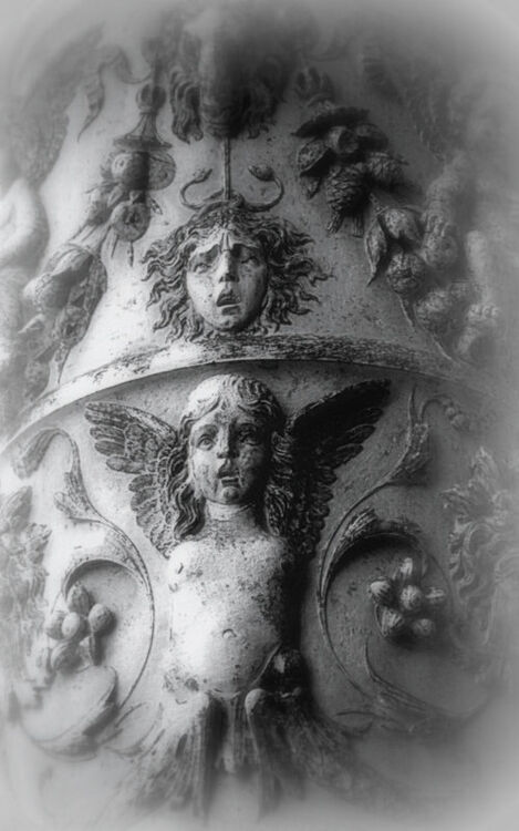 DETAIL ON A COLUMN