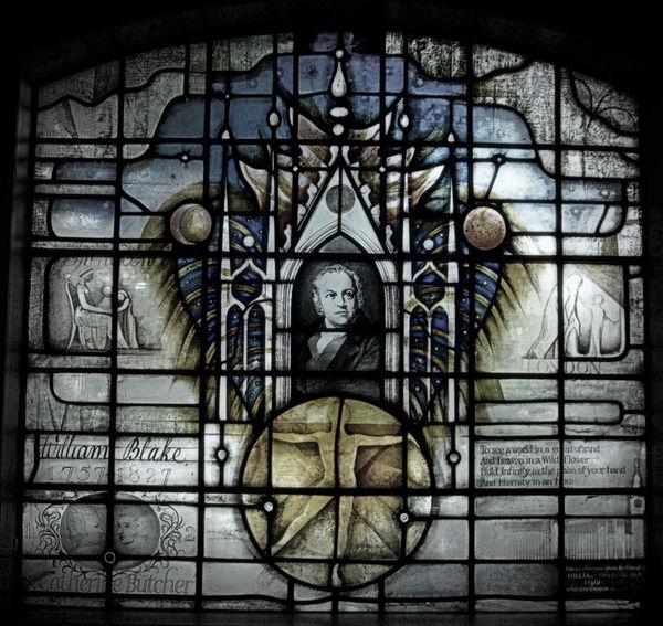 WILLIAM BLAKE WINDOW