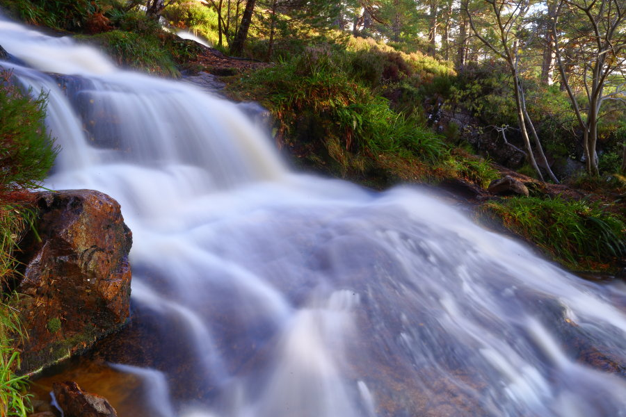 WATERFALLS  CAIRNGORMS NATIONAL PARK