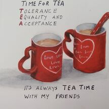 "Inspired by ""Tea for two"""
