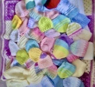 More Tiny Baby Hats - Feb 2020