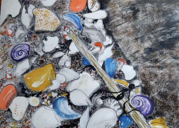 """""""Sticks and Stones"""" by Andrea Cochran"""