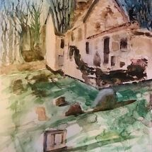 """St.Bridget's Kirk"" by Jan Callender"
