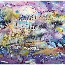 """Night Garden"" by Marjorie Rae"